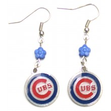 Chicago Cubs Sophie Dangle Earrings