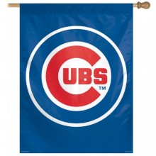 "Chicago Cubs Vertical Flag 27"" X  37"""