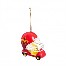 Iowa State Cyclones Field Car Ornament