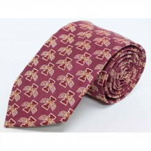 NCAA Officially Licensed Iowa State Cyclones Repeater Silk Necktie