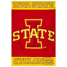 "Iowa State Cyclones Screen Printed  28"" x 44"" House Flag"