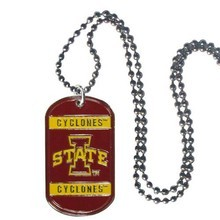Iowa State Cyclones Dog Tag necklace