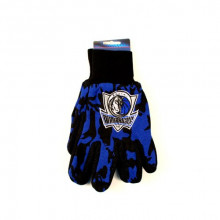 NBA Dallas Mavericks Team Color Camo Utility Gloves