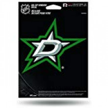 "Dallas Stars 5.75"" X 7.75"" Die-Cut Window Decal"