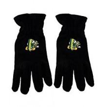 "NCAA Oregon Ducks Disney ""O"" Fleece Gloves, Black, One Size"