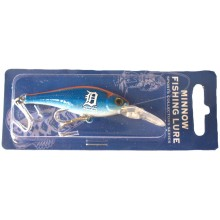 Detroit Tigers Minnow Crankbait Fishing Lure