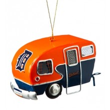 Detroit Tigers 3-D Camper Ornament
