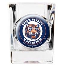 Detroit Tigers Square 2 oz Retro Shot Glass