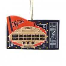 Detroit Tigers Team Scoreboard Ornament