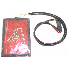 Arizona Diamondbacks Beaded Lanyard I.D. Wallet