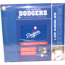 Los Angeles Dodgers 12 x 12 Complete Scrapbook Kit