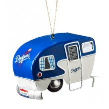 Los Angeles Dodgers 3-D Camper Ornament