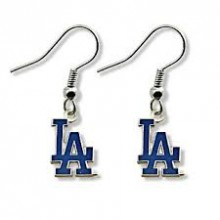 Los Angeles Dodgers Logo Dangle Earrings