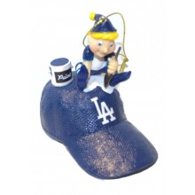 Los Angeles Dodgers Elf Painting Ornament