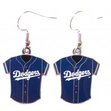 Los Angeles Dodgers Jersey Dangle Earrings