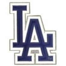 Los Angeles Dodgers Large Logo Money Clip