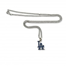 Los Angeles Dodgers  Logo Chain Necklace