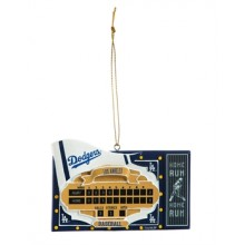 Los Angeles Dodgers Team Scoreboard Ornament