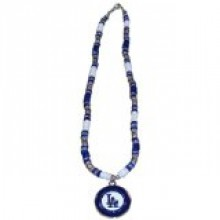 Los Angeles Dodgers Shell Necklace, 18-Inch, White