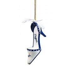 Los Angeles Dodgers Team High Heel Shoe Ornament