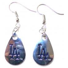 Los Angeles Dodgers Tear Drop Earrings
