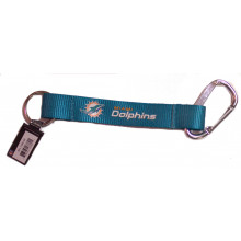 Miami Dolphins Carabiner Lanyard Key Chain