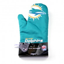 Miami Dolphins Crossover Oven Mitt