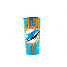 Miami Dolphins 16-ounce Insulated Travel Mug