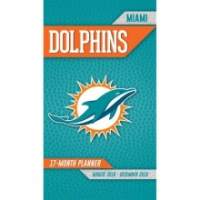 Miami Dolphins 17 Month Pocket Planner (2018-2018)