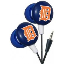 Detroit Tigers Ihip Earbuds Headphones