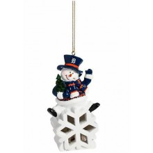Detroit Tigers LED Snowflake Ornament