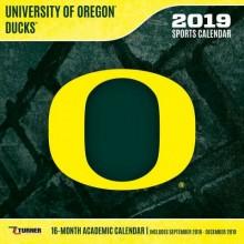 Oregon Ducks 12 x 12 Wall Calendar (2019)
