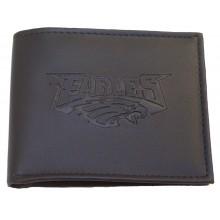 Philadelphia Eagles Black Leather Bi-Fold Wallet