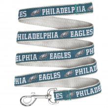 "Philadelphia Eagles 5/8"" W X 4' L Team Pet Leash"