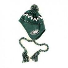 NFL Licensed INFANT Philadelphia Eagles Pom Tassel Beanie