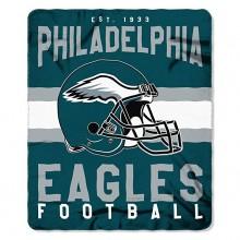 "Philadelphia Eagles 50"" x 60"" Singular Fleece Throw Blanket"