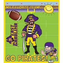 East Carolina Pirates 9x10 24 Piece Youth Puzzle