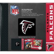 """Atlanta Falcons 8"""" X 8"""" Complete Scrapbook"""