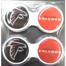 Atlanta Falcons 2 Pack Contact Lens Case