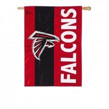 Atlanta Falcons Embellish House Flag