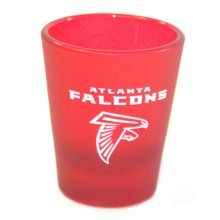 Atlanta Falcons Frosted 2 oz Shot Glass