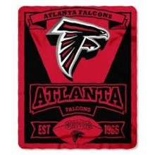"Atlanta Falcons 50"" x 60"" Marque Fleece Throw Blanket"