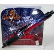 Florida Panthers Stationery Desk Caddy with Matching Ballpoint Grip Pen