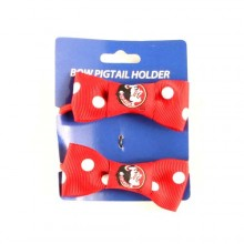 Florida State Seminoles Bow Pigtail Holders