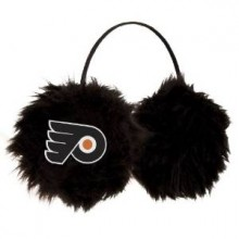 Philadelphia Flyers Embroidered Faux Fur Team Logo Earmuffs Cheermuffs