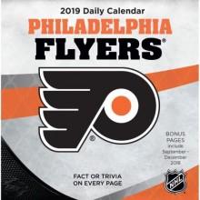Philadelphia Flyers 2019 Boxed Desk Calendar