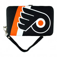"Philadelphia Flyers Distressed Wallet Wristlet Case (3.5"" X .5"" X 6"")"
