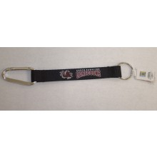 NCAA South Carolina Gamecocks Carabiner Lanyard Key Chain