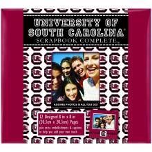"South Carolina Gamecocks 8"" X 8"" Complete Scrapbook Kit"