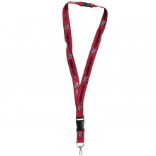 NCAA USC Gamecocks team color Breakaway Lanyard Key Chain
